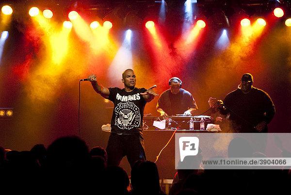 The U.S. hip-hop musician Darryl McDaniels aka DMC of RUN DMC  live in the Schueuer  Lucerne  Switzerland