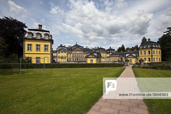 Altes Barock-Residenzschloss  Bad Arolsen  Hessen  Deutschland  Europa