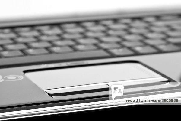 Touchpad eines modernen Laptop Computers
