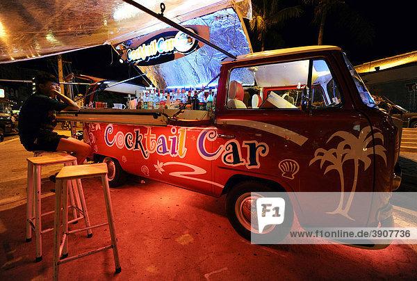 VW Bus mit Cocktail Bar  Thailand  Asien VW Bus mit Cocktail Bar, Thailand, Asien
