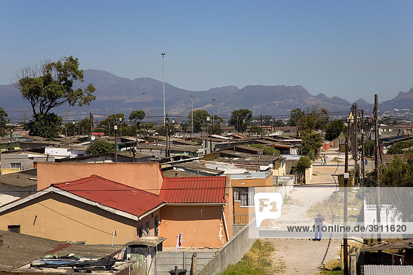 Nyanga township  Cape Town  Western Cape  South Africa  Africa