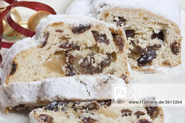 German Stollen fruit loaf  christmas cake