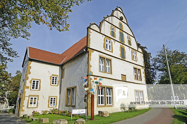Naturkundemuseum  Museum  Spiegelscher Hof  Bielefeld  Ostwestfalen Lippe  Nordrhein-Westfalen  Deutschland  Europa