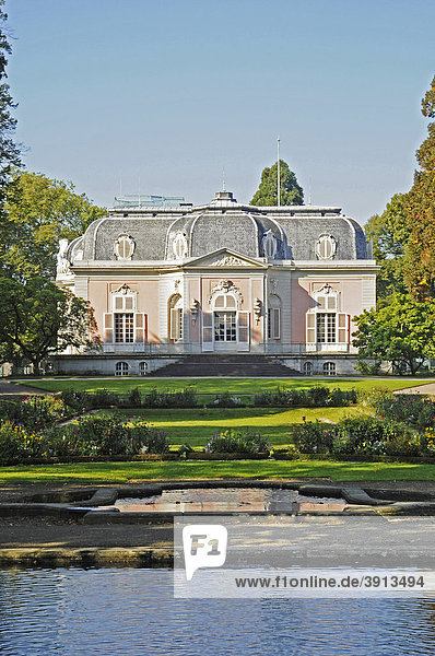 Park  Schloss Benrath  Benrath  Düsseldorf  Rheinland  Nordrhein-Westfalen  Deutschland  Europa
