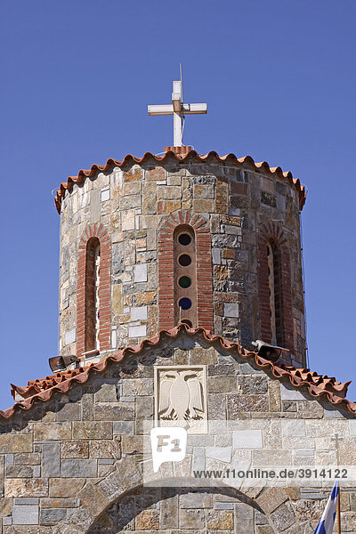 Kirche  Bergdorf Axos  Kreta  Griechenland  Europa