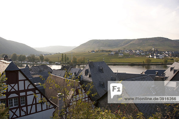 Das malerische Beilstein an der Mosel  Rheinland-Pfalz  Deutschland  Europa
