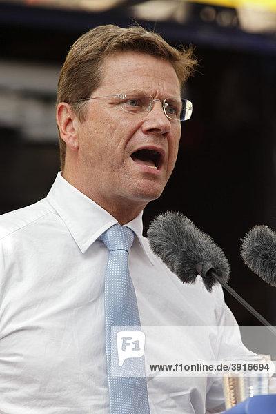 Guido Westerwelle  FDP  deutscher Außenminister
