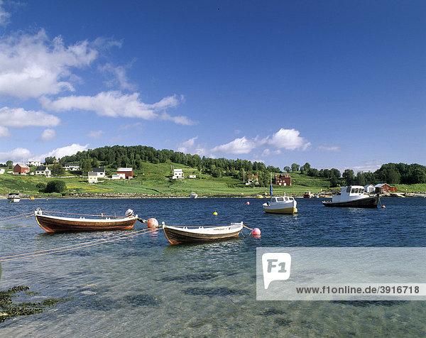 Vagsfjord bei Harstad  Lofoten  Norwegen  Skandinavien  Europa