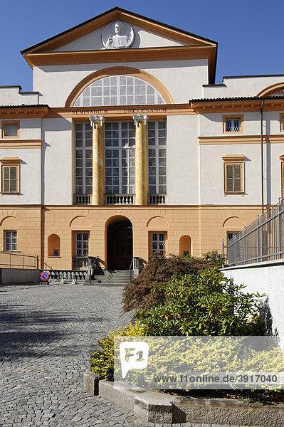 Diözesanseminar  Piazza Mons. Carlo Rossi  Biella  Piemont  Italien  Europa