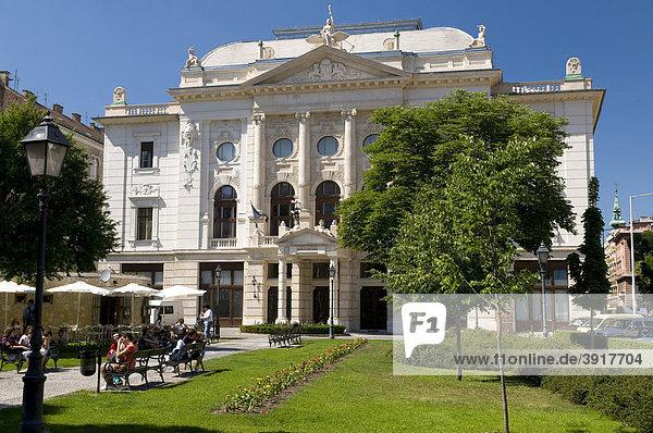 Theater- und Konzertsaal Budai Vigado  Budapest  Ungarn  Europa