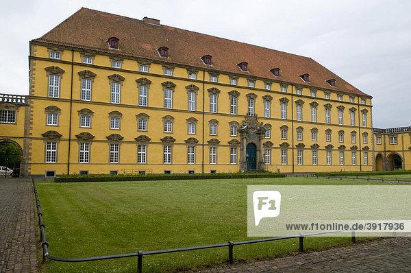 Schloss  Osnabrück  Niedersachsen  Deutschland  Europa