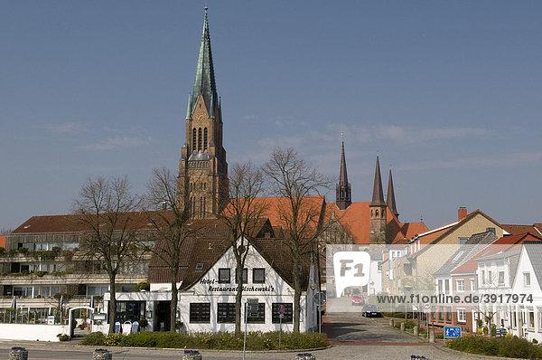 Ortsansicht von Schleswig  Schleswig-Holstein  Deutschland  Europa