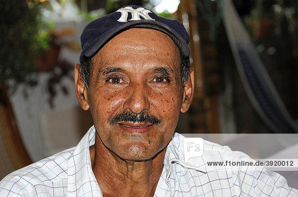 Einwohner von Moyogalpa  Portrait  Insel Ometepe  Nicaragua See  Nicaragua  Zentralamerika