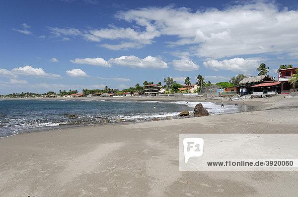 Las Penitas  Strand bei Poneloya  Leon  Nicaragua  Zentralamerika