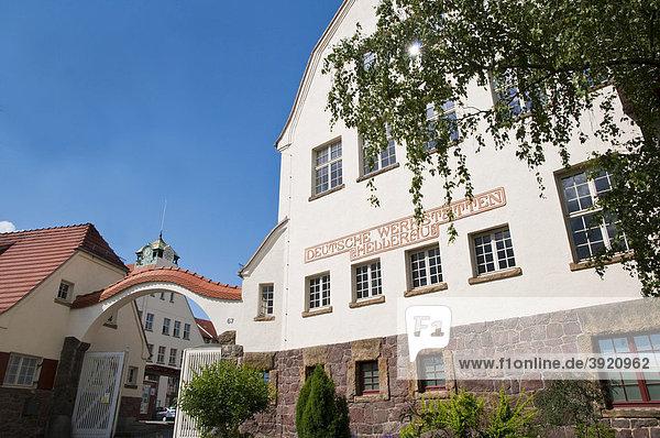 Deutsche Werkstätten Hellerau  historischer Betrieb  Dresden  Sachsen  Deutschland  Europa