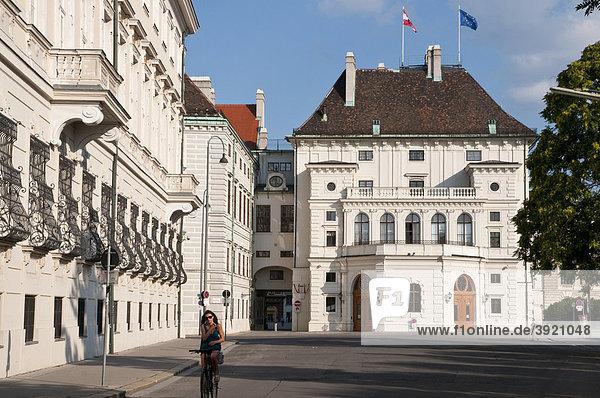 Präsidentschaftskanzlei  Haus des Bundespräsidenten  Wien  Österreich  Europa