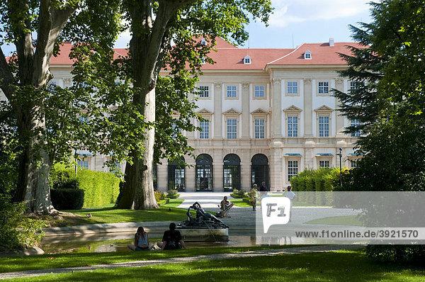 Palais Liechtenstein  Wien  Österreich  Europa