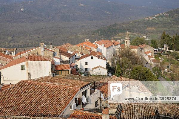 Motovun  Croatia  Europe