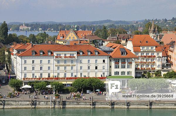 Hotel Bayerischer Hof  Lindau  Bodensee  Bayern  Deutschland  Europa