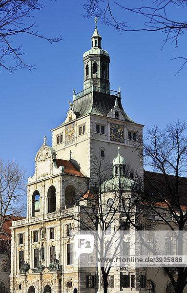 Bayerisches Nationalmuseum  München  Oberbayern  Bayern  Deutschland  Europa