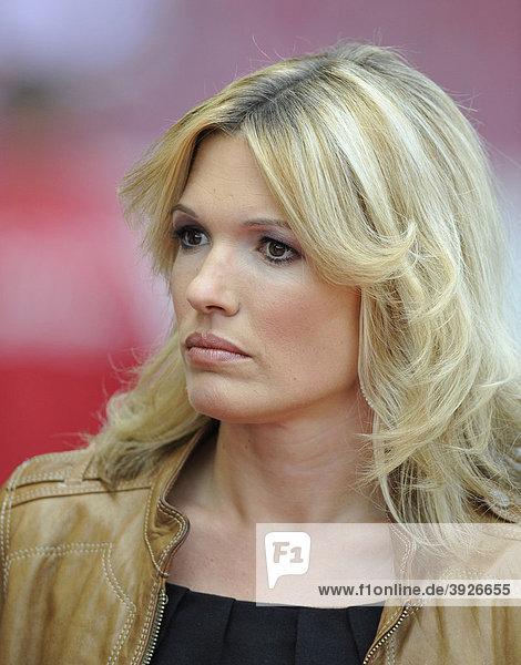 Sportmoderatorin Jessica KASTROP, SKY Sport iblimw01297126