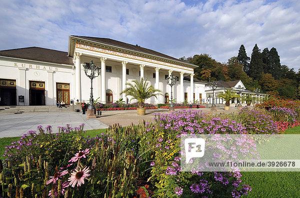 Kurhaus mit Casino Baden-Baden  Baden-Württemberg  Deutschland  Europa