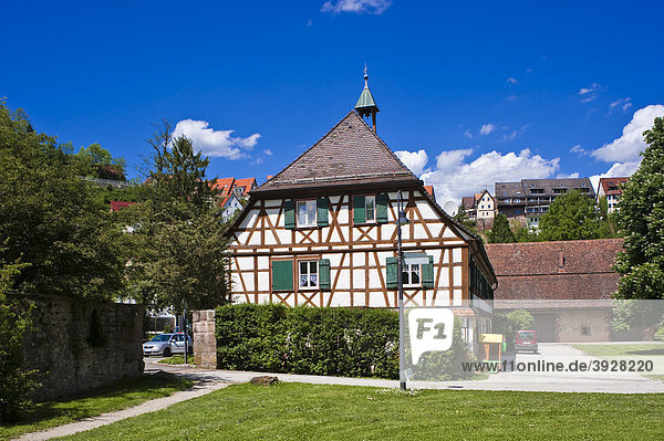 Kloster Reutin  Wohnhaus des Meiers und des Torwarts  Wildberg  Schwarzwald  Baden-Württemberg  Deutschland  Europa Zuhause von