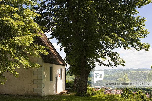 Ottilienkapelle  Horb am Neckar  Schwarzwald  Baden-Württemberg  Deutschland  Europa