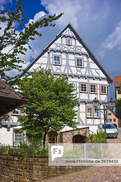Stadtkasse Bürger und Handwerkerhaus  Altensteig  Schwarzwald  Baden-Württemberg  Deutschland  Europa