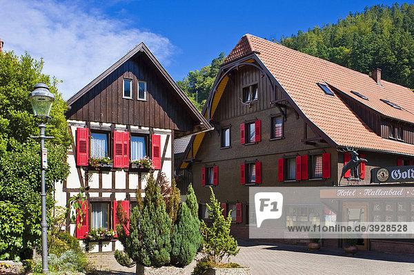 Hotel Gasthof Hirsch  Forbach  Schwarzwald  Baden-Württemberg  Deutschland  Europa