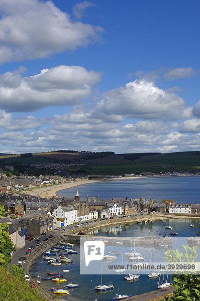 Fischereihafen  Stonehaven  Aberdeenshire  Schottland  Vereinigtes Königreich  Europa