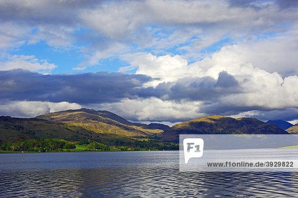 Loch Awe See,  Argyll and Bute Distrikt,  Highlands,  Schottland,  Vereinigtes Königreich,  Europa