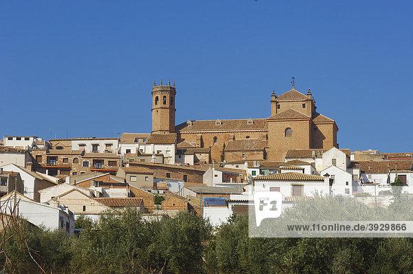San Mateo Kirche  BaÒos de la Encina  Provinz Jaen  Andalusien  Spanien  Europa