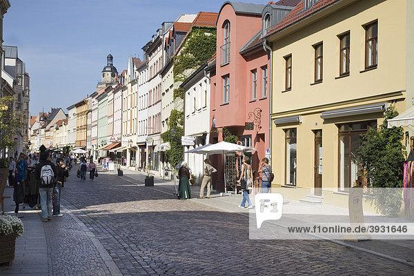 Collegienstraße  Lutherstadt Wittenberg  Sachsen-Anhalt  Deutschland  Europa