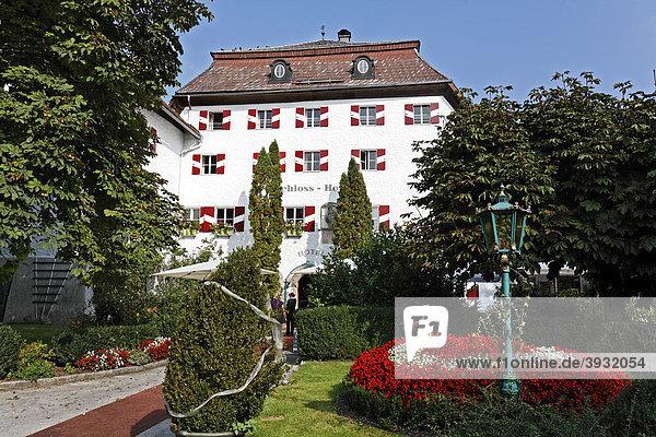 Schlosshotel Iglhauser  Mattsee  Flachgau  Salzburger Land  Salzburg  Österreich  Europa