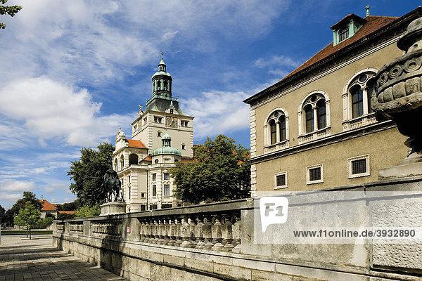 Nationalmuseum  München  Bayern  Deutschland  Europa