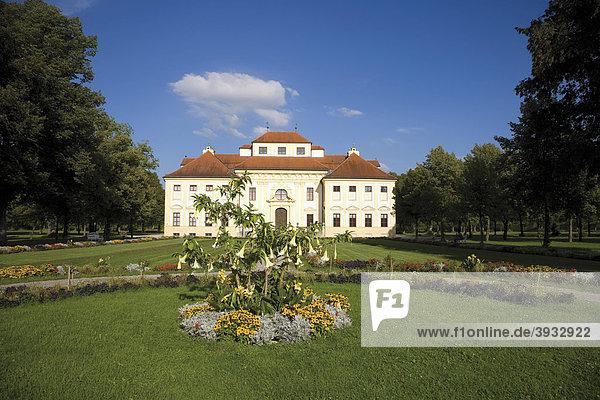 Schlosspark  Schloss Lustheim im Schloss Schleißheim  München  Bayern  Deutschland  Europa
