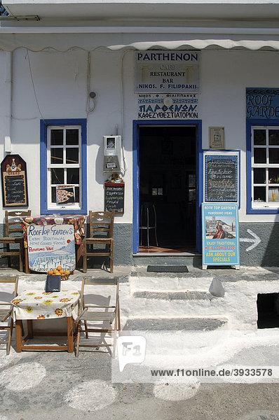 Hausfassade  Olympos  Insel Karpathos  Ägäische Inseln  Ägäis  Dodekanes  Griechenland  Europa Hausfassade