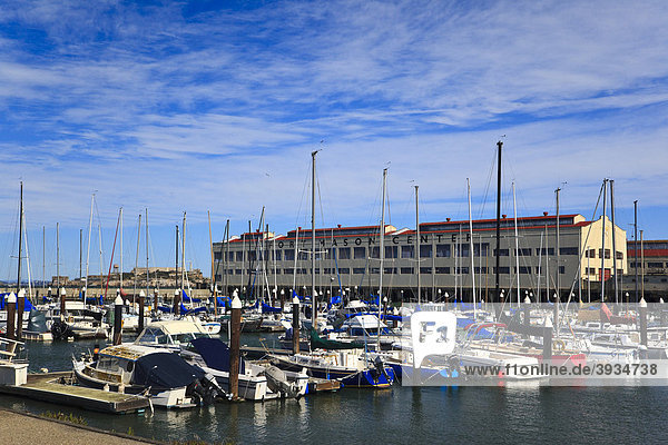 The Marina  Yachthafen  San Francisco  Kalifornien  USA  Nordamerika