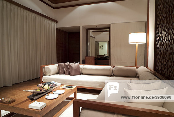 Hotel suite  The Sarojin Hotel  Khuk Khak Beach  Khao Lak  Phang Nga  Thailand  Asia