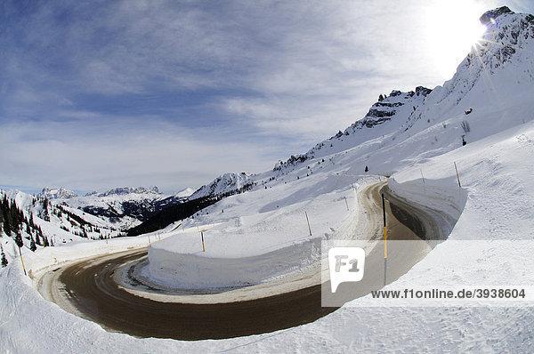 Pordoi-Joch  Sella Ronda  Südtirol  Italien  Europa