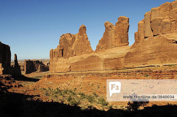 Park Avenue  Arches Nationalpark  Moab  Utah  USA
