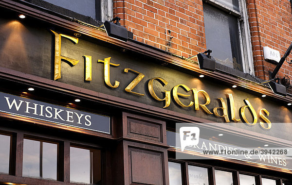 Fitzgeralds  Irish Pub  Dublin  Irland  Europa