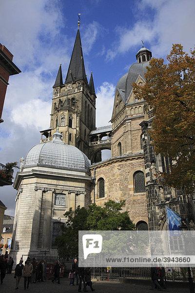 Aachener Dom  Aachen  Nordrhein-Westfalen  Deutschland  Europa