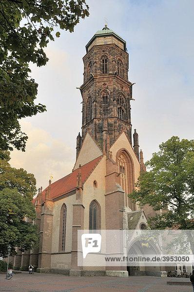 Gotisches Meisterwerk St. Jacobi  13.Jahrhundert  Göttingen  Niedersachsen  Deutschland