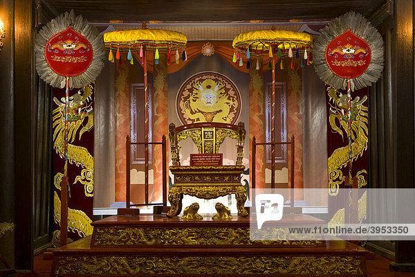 Tu Duc Mausoleum  Hue  Vietnam  Asien