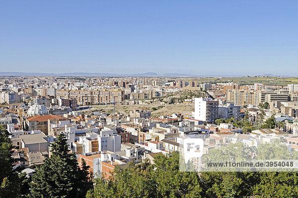 Stadtübersicht  Cartagena  Costa Calida  Murcia  Spanien  Europa