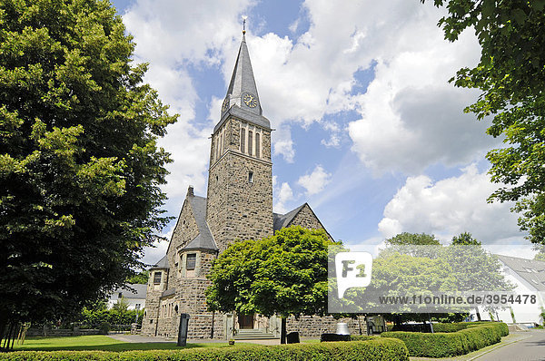 Evangelische Erlöserkirche  Attendorn  Sauerland  Nordrhein-Westfalen  Deutschland  Europa