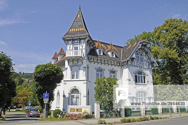 Touristeninformation  Informationszentrum  Bad Berleburg  Kreis Siegen Wittgenstein  Nordrhein-Westfalen  Deutschland  Europa