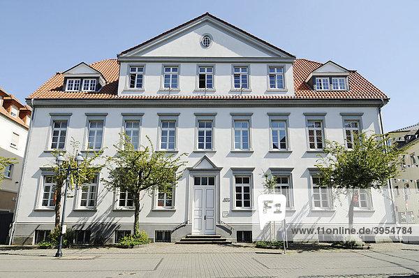 Amtsgericht  historische Altstadt  Werl  Kreis Soest  Nordrhein-Westfalen  Deutschland  Europa